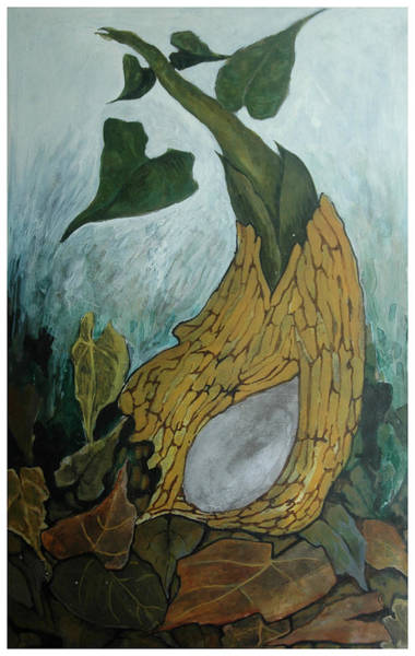 Kannan Painting - Birth by Sooraj Kannan