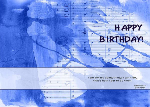Birthday Quote 2 Art Print