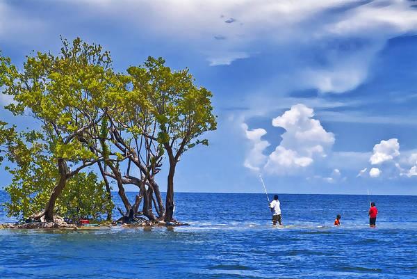 Digital Art - Biscayne Bay Life by Patrick M Lynch