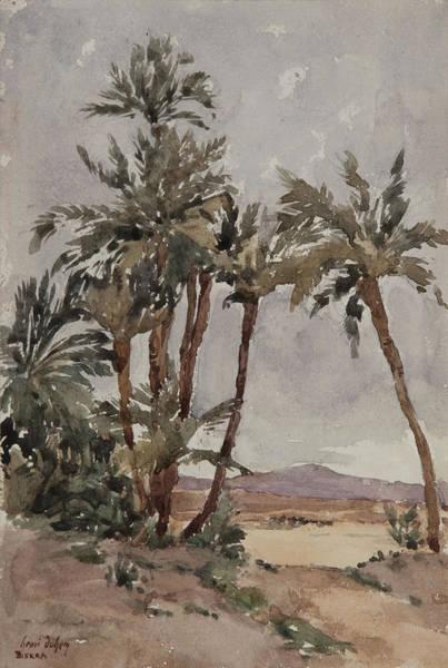 North Africa Wall Art - Painting - Biskra  by Henri Duhem