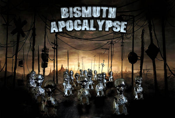 Photograph - Bismuth Apocalypse by Tarey Potter