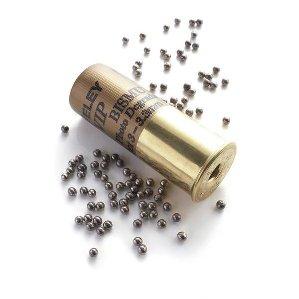 Ammo Photograph - Bismuth Shotgun Pellets And Cartridge by Science Photo Library