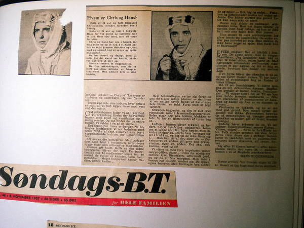 Photograph - Bits From Old Danish Article by Colette V Hera  Guggenheim