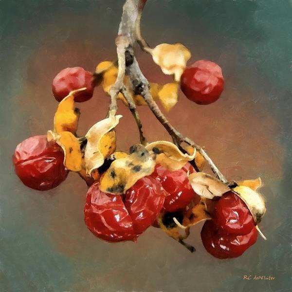 Painting - Bittersweet Memories by RC DeWinter