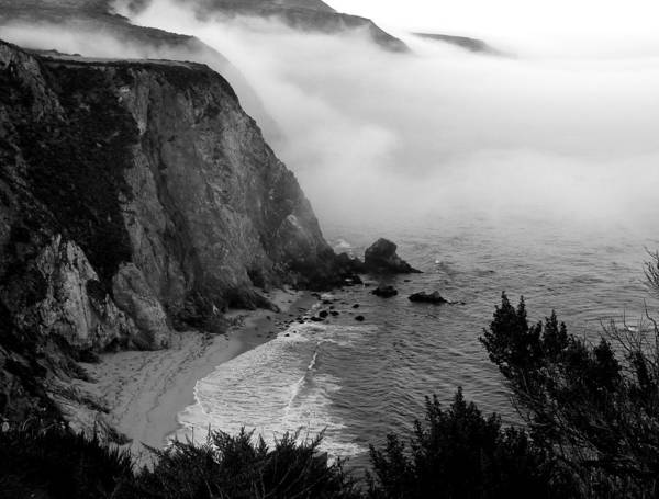 Photograph - Bixby Creek Bridge And Cove by Jeff Lowe
