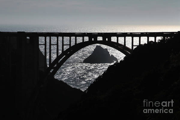 Photograph - Bixby Creek Bridge Big Sur Pat Hathaway Photo by California Views Archives Mr Pat Hathaway Archives