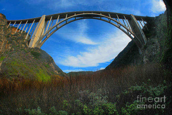 Photograph - Bixby Creek Bridge Big Sur Photo By Pat Hathaway Feb. 2015 by California Views Archives Mr Pat Hathaway Archives