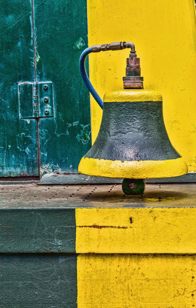 Photograph - Black And Bell And Yellow Trim by Gary Slawsky