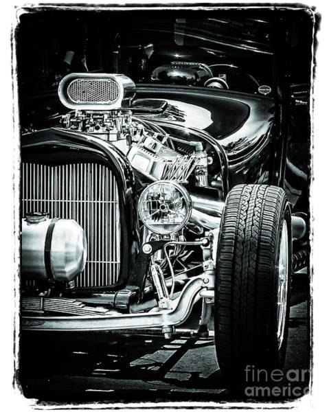 Wall Art - Photograph - Black And Chrome by Perry Webster