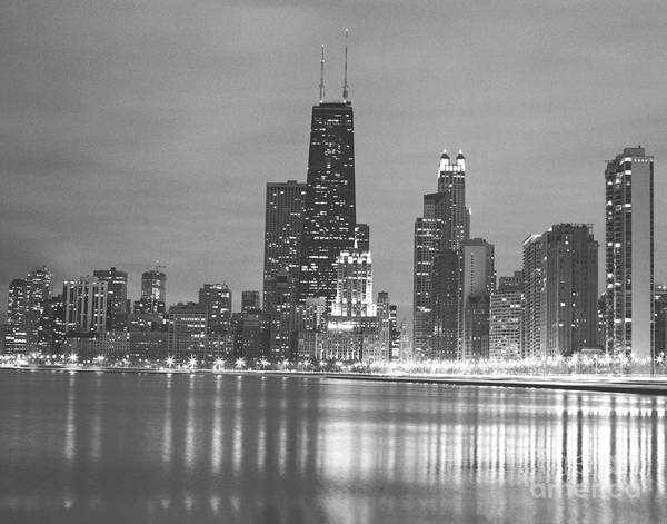 Wall Art - Photograph - Black And White City Of Chicago Photography by Bob Horsch