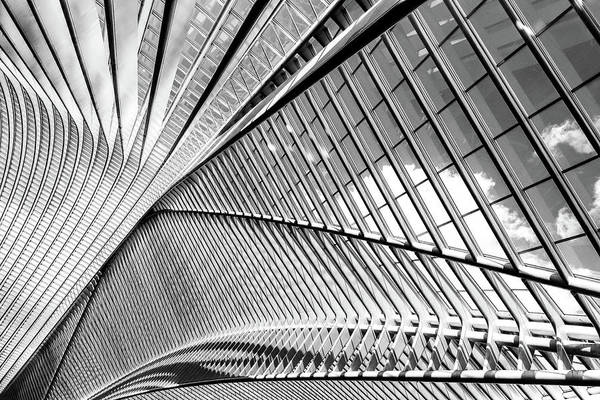 Photograph - Black And White Exposure Of Modern by Relaxfoto.de