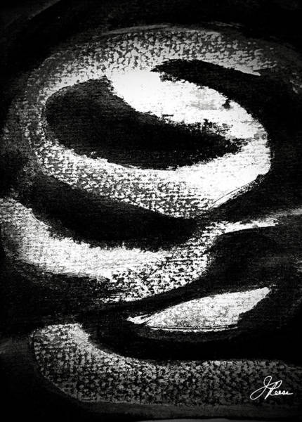 Painting - Black And White by Joan Reese