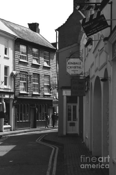 Photograph - Black And White Kinsale Street by Jeremy Hayden