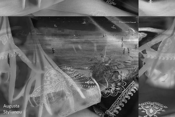 Digital Art - Black And White Moments by Augusta Stylianou