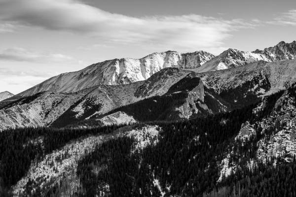 High Tatras Wall Art - Photograph - Black And White Mountains by Pati Photography