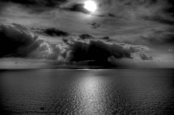 Photograph - Black And White Of The Med by Matt Swinden