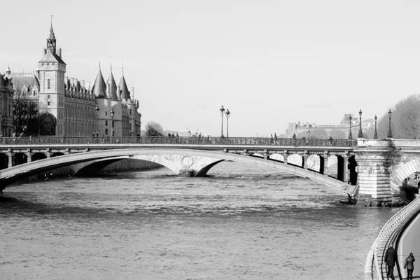 Cours Photograph - Black And White Paris by Pati Photography