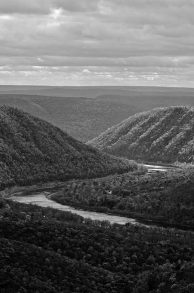 Lock Haven Wall Art - Photograph - Black And White Plateau by Scott Hafer