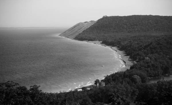 Photograph - Black And White Sleeping Bear Dunes by Dan Sproul