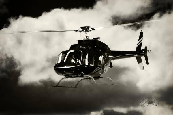 Kimberley Airport Photograph - Black Bell by Paul Job
