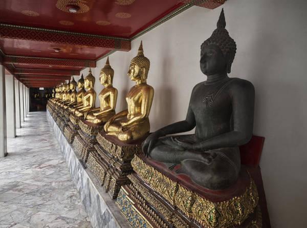 Photograph - Black Buddha by Kim Andelkovic