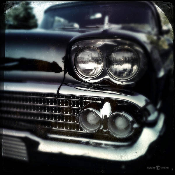Photograph - black Cadillac by Tim Nyberg