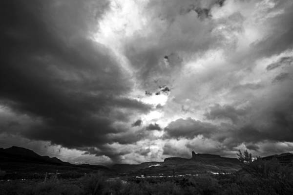 Stormcloud Photograph - Black Canyon Divide by Anthony Citro