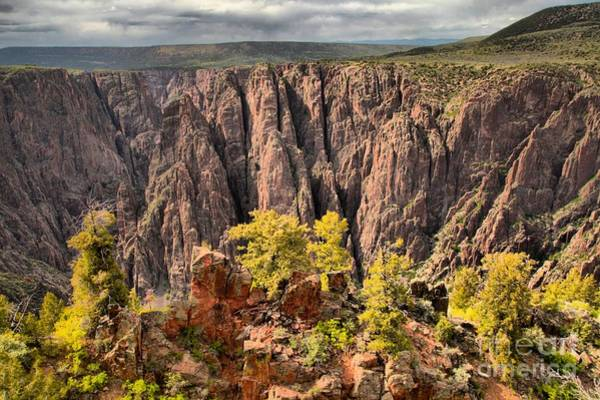 Photograph - Black Canyon Spires by Adam Jewell
