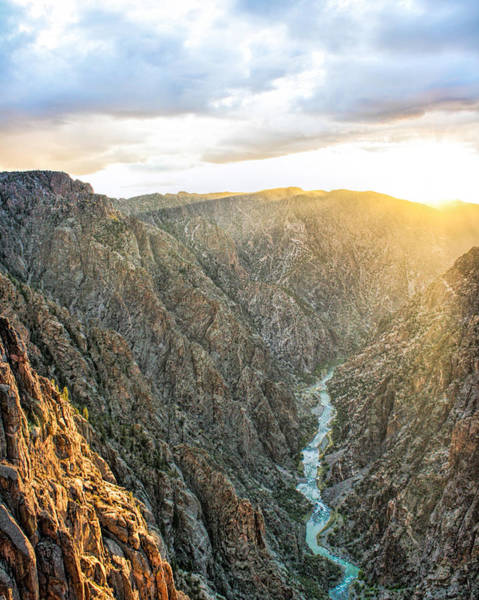 Photograph - Black Canyon Sunset by Rick Wicker