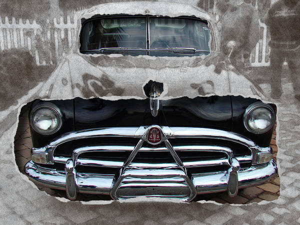 Photograph - Black Car Ripped by Alice Gipson