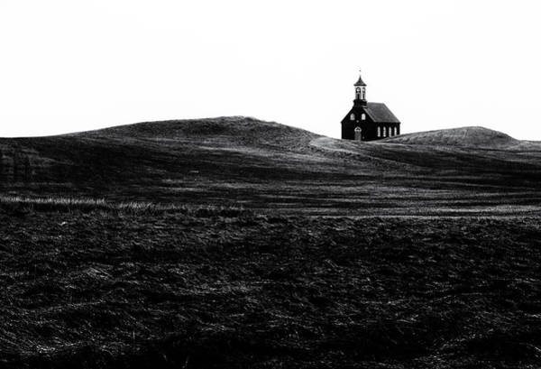 Grass Photograph - Black Chapel by Julien Oncete