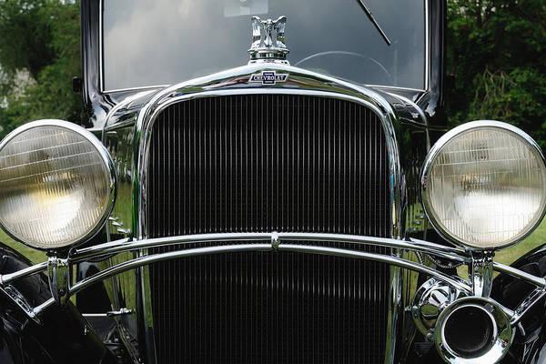 Photograph - Black Chevrolet by John Kiss
