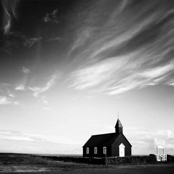 Wall Art - Photograph - Black Church by Nina Papiorek