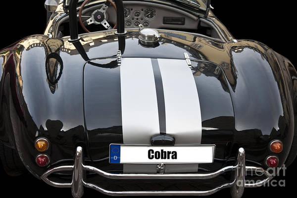 Photograph - Black Cn Cobra Classic Car by Heiko Koehrer-Wagner