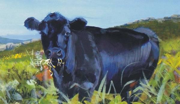 Cows Dartmoor Art Print