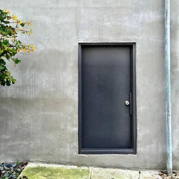 Wall Art - Photograph - Black Door by Julie Gebhardt