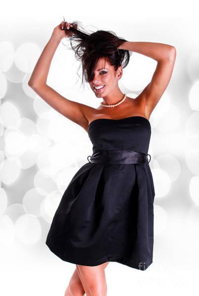 Jewelery Photograph - Black Dress by Jt PhotoDesign