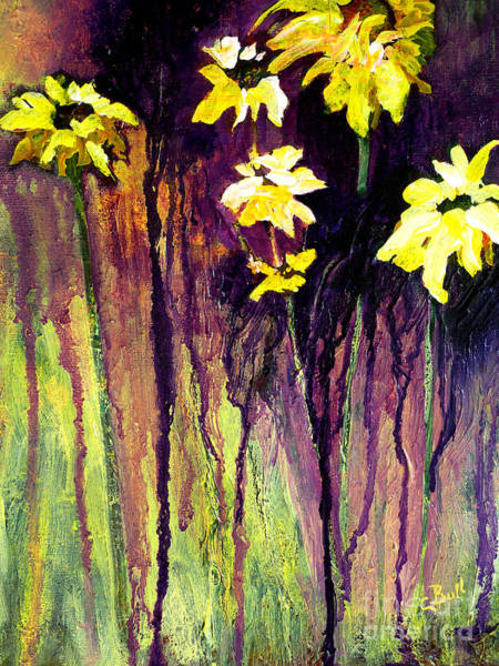 Painting - Black-eyed Susans by Claire Bull