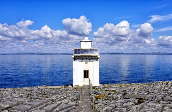 Photograph - Black Head Lighthouse by Fabrizio Troiani
