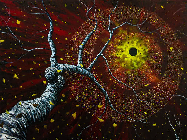 Painting - Black Hole Sun by Joel Tesch
