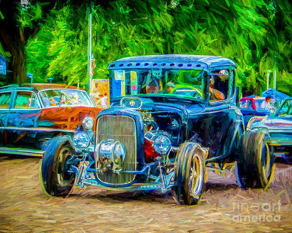 Wall Art - Photograph - Black Hot by Perry Webster