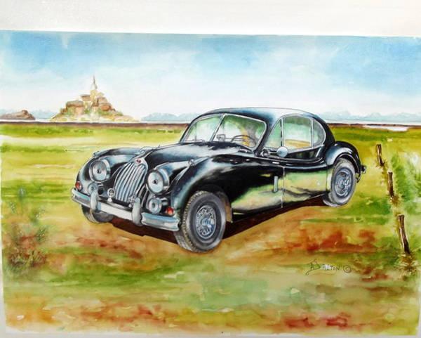 Painting - Black Jaguar by Anne Dalton