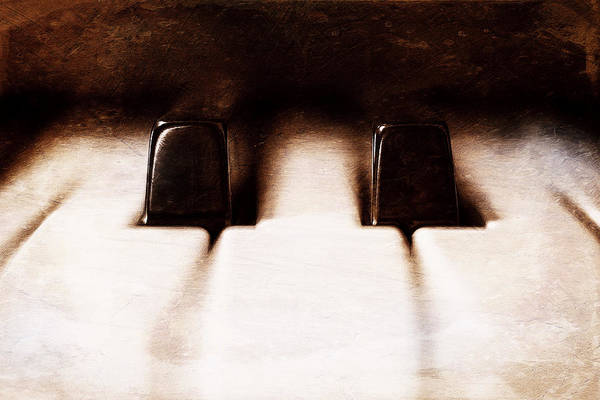 Wall Art - Photograph - Black Keys D Flat And E Flat  by Scott Norris