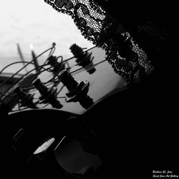 Photograph - Black Lace Valentine by Barbara St Jean