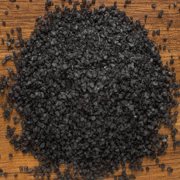 Wall Art - Photograph - Black Lava Salt by Steve Gadomski