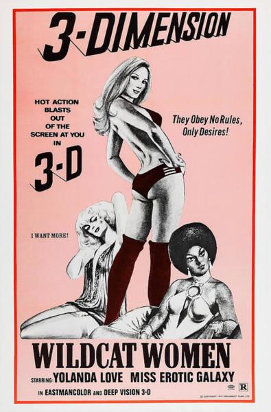 Erotic Movie Poster Photograph - Black Lolita, Aka Wildcat Women by Everett