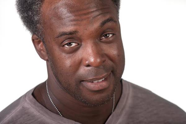 Photograph - Black Male Surprised by Gunter Nezhoda