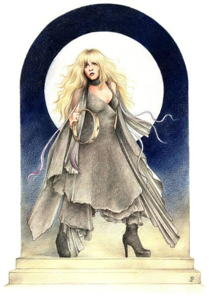 Magical Drawing - Black Moons by Johanna Pieterman