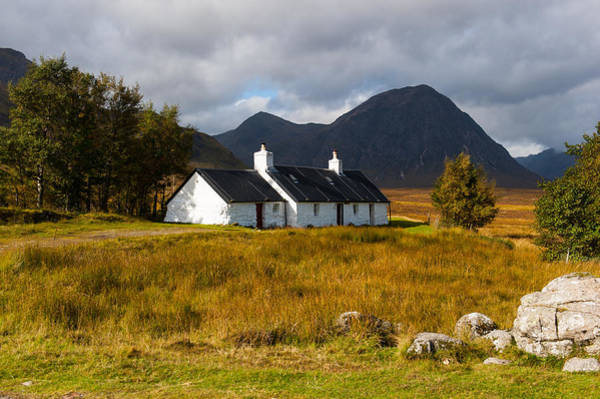 Photograph - Black Rock Cottage Rannoch Moor by Gary Eason