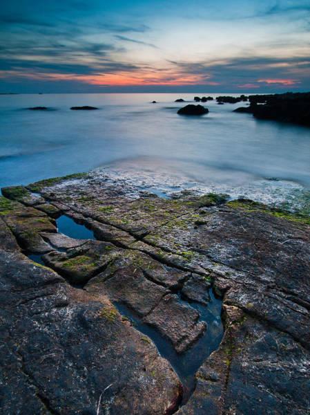 Adriatic Wall Art - Photograph - Black Rock by Davorin Mance